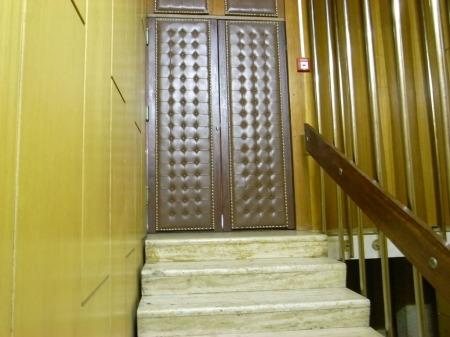 Door to secret floor?
