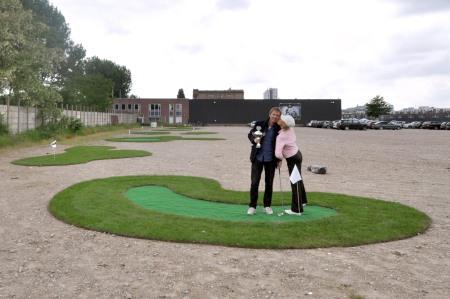 NL Architects Greening the City Mini Golf Tournament Winner